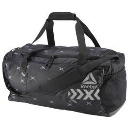 Reebok 48L Grip Duffle taška černá