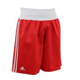 adidas box trenky - červená červená L