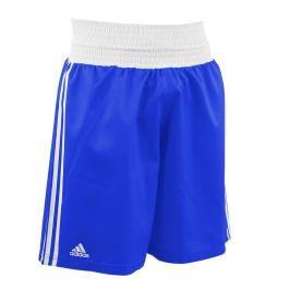 adidas box trenky - modrá modrá L