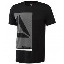Reebok Graph Tech triko černá S