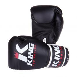 Boxerské rukavice King - černá černá 12