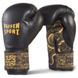 Boxerské rukavice Paffen Sport Dragon gold černá 12