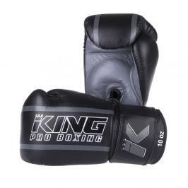 Boxerské rukavice King ELITE - černá/šedá černá 12