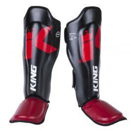 Chrániče holení King Pro Boxing - černá/červená černá S