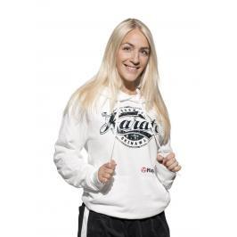 Mikina s kapucí HAYASHI Karate Okinawa - bílá bílá S