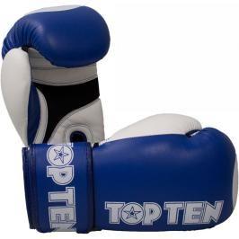 Boxerské rukavice Top Ten XLP WAKO - modrá modrá 10