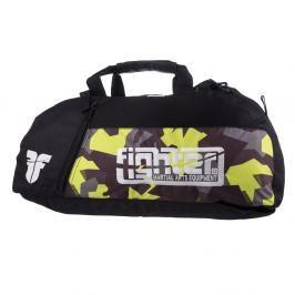 Sportovní taška Fighter - maskáč maskáč M