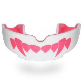 SAFEJAWZ chrániče zubů Fangz-Pink bílá