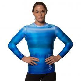 Fuji Haiku dámský rashguard ledově modrá XS
