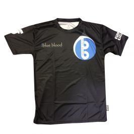 Tréninkové triko Fighter - Blue Blood černá XXXS