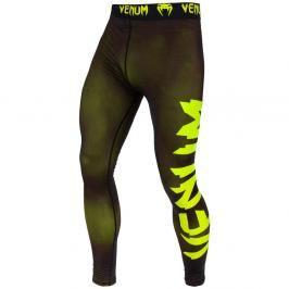 Venum Giant Spats - černá/neon žlutá černá M