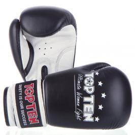 Boxerské rukavice Top Ten Women Fight - černá/bílá černá 10