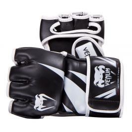 MMA rukavice Venum Challenger - černá/bílá černá S