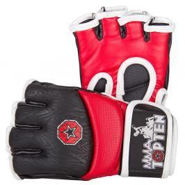 Top Ten MMA rukavice Gel - červená/černá červená S