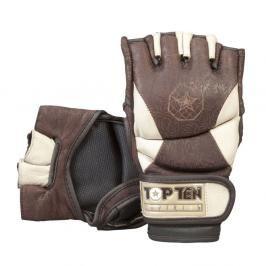 MMA rukavice Top Ten - Superior hnědá M