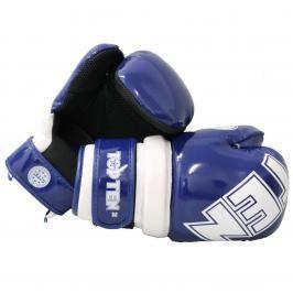 Otevřené rukavice Top Ten BLOCK - modrá/bílá modrá S