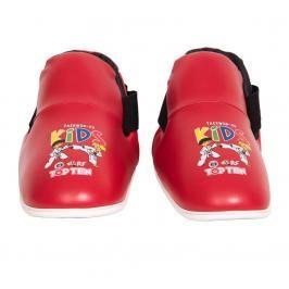 Top Ten Kids Generation chrániče nohou ITF Taekwon-Do červená XS