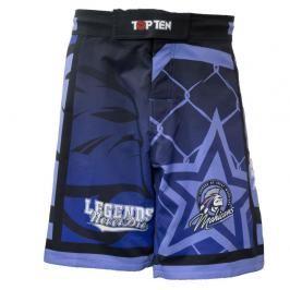 Top Ten MMA trenky Mohicans modrá S