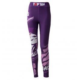 Top Ten MMA kompresní kalhoty dámské Mohicans fialová XS