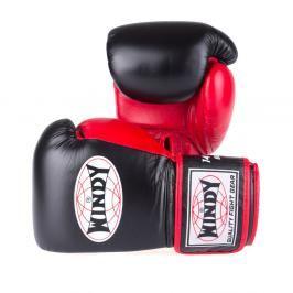 Boxerské rukavice Windy Proline - černá/červená černá 10