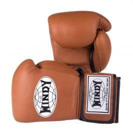 Boxerské rukavice Windy Proline - hnědá hnědá 10