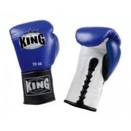 Boxerské rukavice King Lace-up - modrá/bílá/černá modrá 8