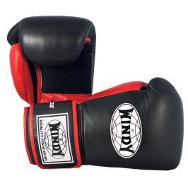 Boxerské rukavice Windy Mesh - černá/červená černá 10