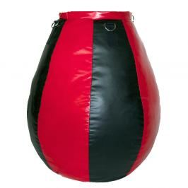 Boxovací pytel Fighter Hruška - černá/červená černá