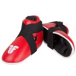 Chrániče nohou Fighter - červená červená XS