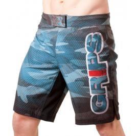 GRIPS MMA trenky Carbon Army modrá S