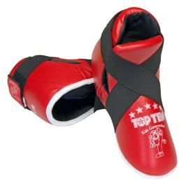 Chrániče nohou TOP TEN Kids - červená červená XS