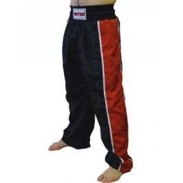 Kalhoty Top Ten - černá/červená černá 190