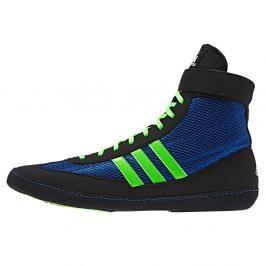 Dětská Zápasnická obuv adidas Combat Speed 4 - černá/modrá/neon zelená černá 5,5
