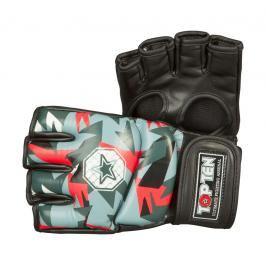 MMA Rukavice - TOP TEN MMA - Jungle - černá/červená černá S
