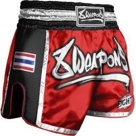 Trenky na thajský box 8 Weapons Super Mesh červená XXL