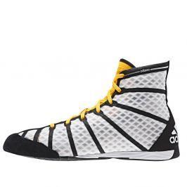Boxerská obuv adidas adizero bílá 10,5