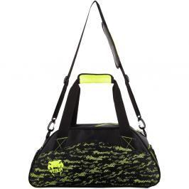 Venum Camoline sportovní taška - černá/neon žlutá černá