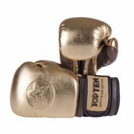 Top Ten boxerské rukavice Heritage zlatá 10