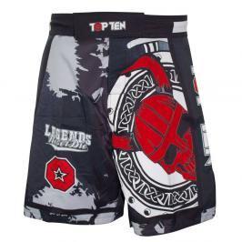 Top Ten MMA trenky Vikings - černá/červená černá S