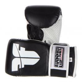 Pytlové rukavice Fighter Velcro černá L
