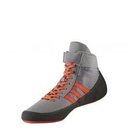 Zápasnická obuv adidas HVC - šedá/oranžová šedá 9