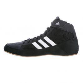 Dětská zápasnická obuv adidas HVC - černá/hnědá černá 1