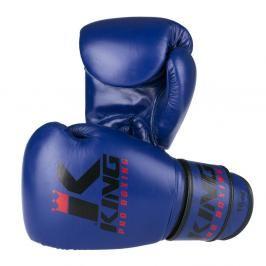 Boxerské rukavice King - modrá/černá modrá 10