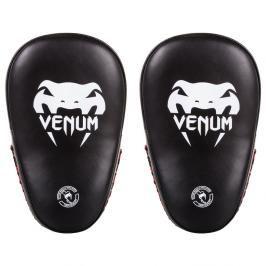 Venum Elite boxerské lapy - černé/bílé černá