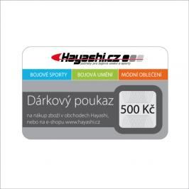 Dárkový poukaz hayashi.cz dle vyobrazení 1000 Kč