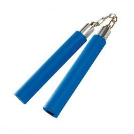 Nunchaku Century pěnové s řetězem - modrá modrá