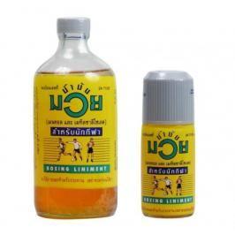 Thajský Olej Namman Muay žlutá 450 ml