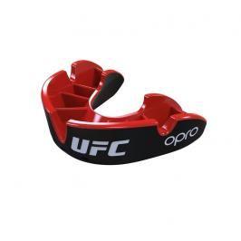Chrániče zubů - OPRO UFC - Silver level - černá/červená černá