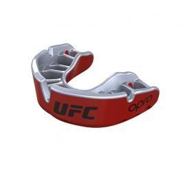 Chrániče zubů - OPRO UFC - GOLD level - červená/stříbrná červená