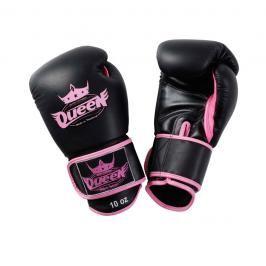 Boxerské rukavice Queen - černá černá 10